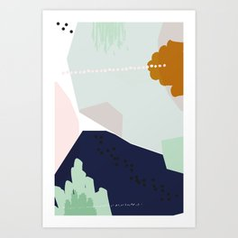 Tipping Point Art Print