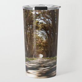 Tunnel of Trees Photography Print Travel Mug