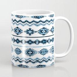 cockatoo (indigo) Coffee Mug