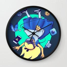 Follow Me (Down the Rabbit Hole) Wall Clock