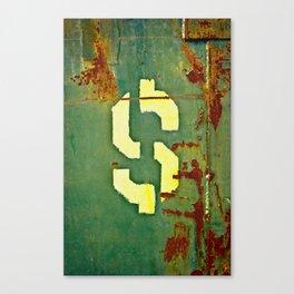 Big Bucks Canvas Print