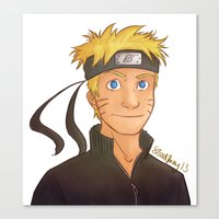 naruto Canvas Prints featuring Naruto by Shaungart