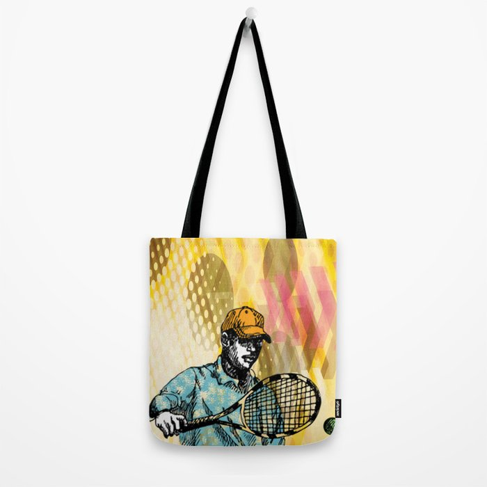 Tennis Backhand Tote Bag