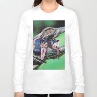 safari Long Sleeve T-shirts featuring Safari by John Turck