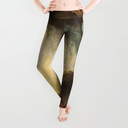 """J. M. W. Turner """"Snow Storm - Hannibal and his Army Crossing the Alps"""" Leggings"""