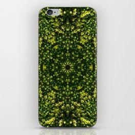 Mossy Flower iPhone Skin