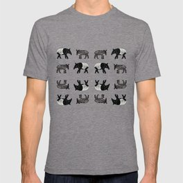 Dance of the Tapirs in red T-shirt