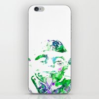 yoda iPhone & iPod Skins featuring Yoda by NKlein Design