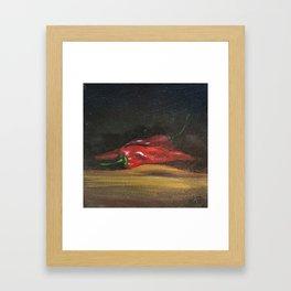 Chilis Framed Art Print