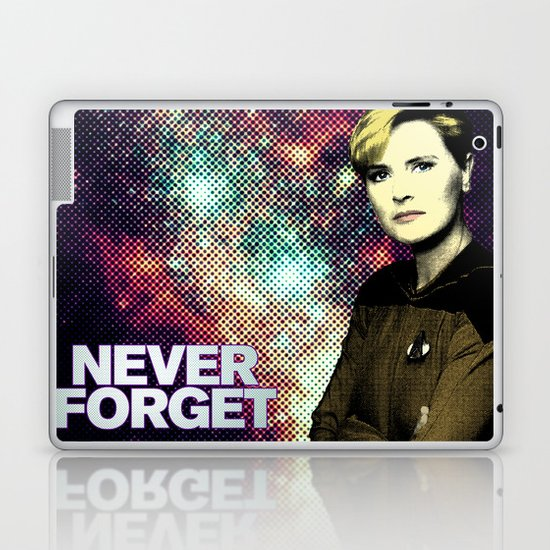Never Forget Tasha Laptop & iPad Skin