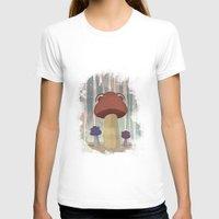 mushroom T-shirts featuring mushroom by Zuhal Arslan