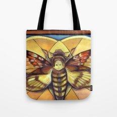 Deaths Head Moth Tote Bag