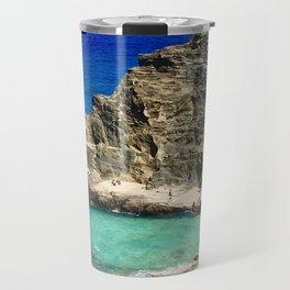 Halona Blowhole Travel Mug
