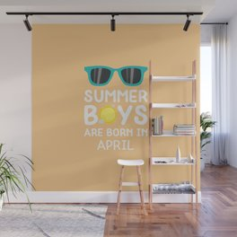 Summer Boys in APRIL T-Shirt for all Ages Dtkzh Wall Mural