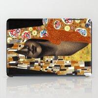 klimt iPad Cases featuring Klimt Me by Estúdio Marte