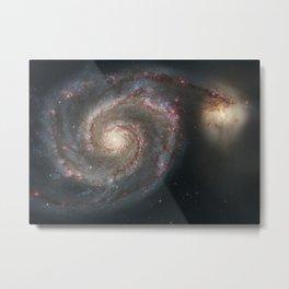 The Whirlpool Galaxy Metal Print