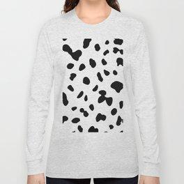 Dalmatian dog spot Long Sleeve T-shirt