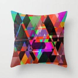 Decor Geometric triangles Throw Pillow