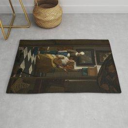 Johannes Vermeer - The Love Letter Rug