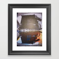 water house Framed Art Print