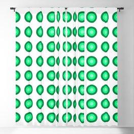 Bullseye -- Sea Green Blackout Curtain