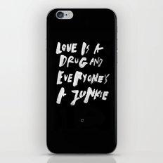 A DRUG iPhone & iPod Skin