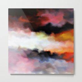 Color burst - Under the Sky Metal Print