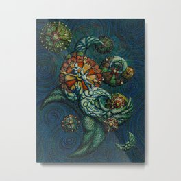Across time and space Metal Print