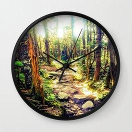 Zealand Forest Wall Clock