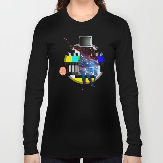 TV Brain Space Life Balance Long Sleeve T-shirt