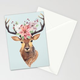 Winter Deer 2 Stationery Cards