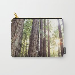 Sunlight Through Redwoods Carry-All Pouch