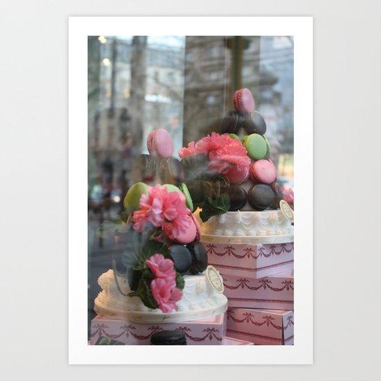 Window Shopping Art Print