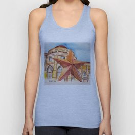 The Bullock Texas State History Museum Watercolor Unisex Tank Top