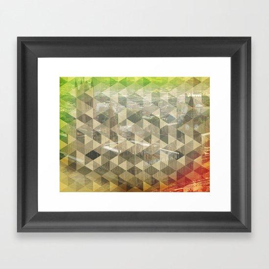 WP pattern Framed Art Print