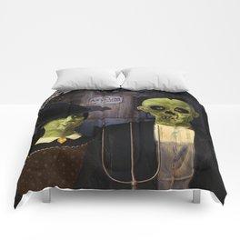 American Gothic Halloween Comforters