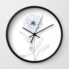 Calendula Wall Clock