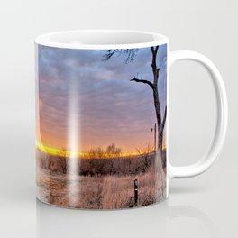 Grain Bin Sunset 3 Coffee Mug