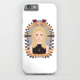 Our Lady of Protection iPhone Case
