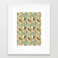 insects Framed Art Prints featuring Insects by Dani Tea