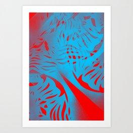 Stencillo Art Print