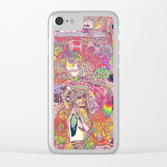 Feral Kittens Clear iPhone Case