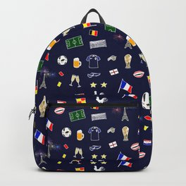 Football pattern Backpack