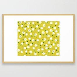 spring, yellow Framed Art Print