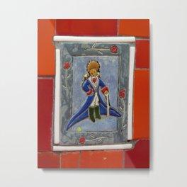 Little Prince, Escadaria Selaron Metal Print