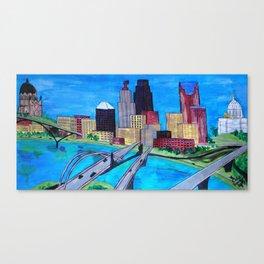 61 Canvas Print