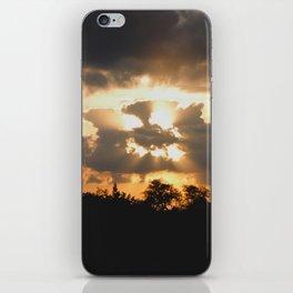 A Face In The Clouds iPhone Skin