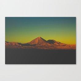 Sunset on Mars (San Pedro de Atacama, Chile) Canvas Print