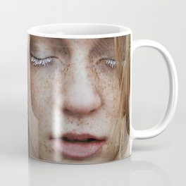 Freckled girl Coffee Mug