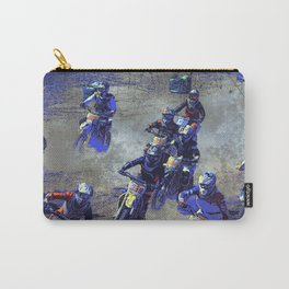 Lets Race!  - Motocross Racers Carry-All Pouch